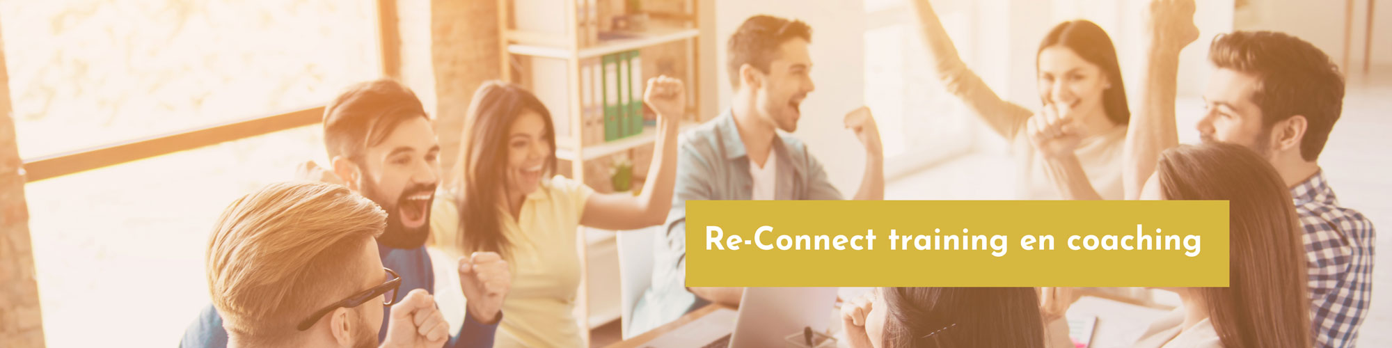 Re-connect training en coaching mikt op meer verbinding.